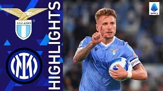 Lazio 3-1 Inter | Lazio triumph at the Olimpico! | Serie A 2021/22