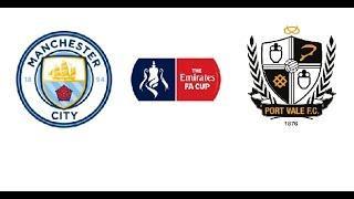 Манчестер Сити Порт Вейл 4 - 1 обзор матча 04.01.2020 голы Кубок Англии