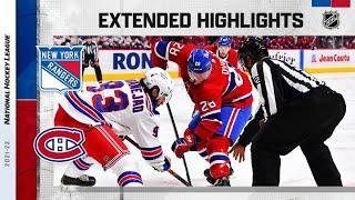 New York Rangers vs Montreal Canadiens | Oct.16, 2021 | Game Highlights | NHL 2022 | Обзор матча