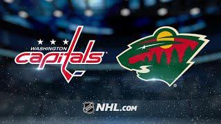 Washington Capitals vs Minnesota Wild | Mar.1, 2020 | NHL 19/20 | Game Highlights | Обзор матча