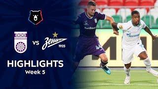 Highlights FC Ufa vs Zenit (1-1) | RPL 2021/22