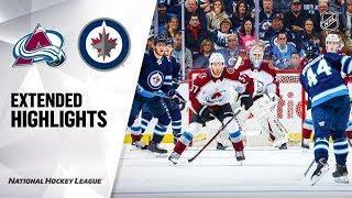 Colorado Avalanche vs Winnipeg Jets | Nov.12, 2019 | Game Highlights | NHL 2019/20 | Обзор матча