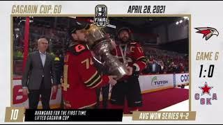 Bob Hartley Champion Once Again...2021 Gagarin Cup