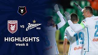 Highlights Rubin vs Zenit (1-3)   RPL 2021/22
