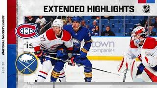 Montreal Canadiens vs Buffalo Sabres   Oct.14, 2021   Game Highlights   NHL 2022   Обзор матча