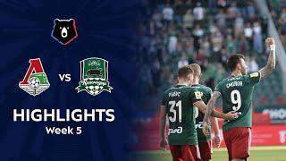 Highlights Lokomotiv vs FC Krasnodar (2-1) | RPL 2021/22