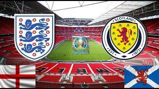 Англия - Шотландия. Старейшая битва в истории футбола. Прогноз на матч. ЕВРО 2020. Группа D. 2-й тур