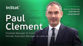 InStat Football Webinar with Paul Clement