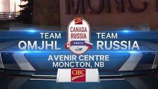 CANADA QMJHL vs RUSSIA U20 (06.11.19) Молодёжная суперсерия, Игра 2...