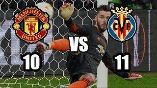 Манчестер Юнайтед Вильярреал пенальти. Обзор матча Лиги Европы