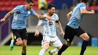 Обзор матча Аргентина - Уругвай - 1:0. Copa America-2021