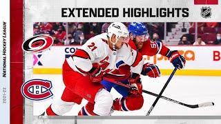 Carolina Hurricanes vs Montreal Canadiens   Oct.21, 2021   Game Highlights   NHL 2022   Обзор матча