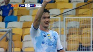 УПЛ | Чемпионат Украины по футболу 2021 | Динамо - Верес - 3:0. Видео гола Тимчика (42`)
