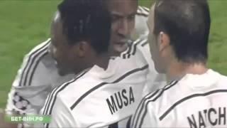 Футбол Лига чемпионов Манчестер Сити - ЦСКА 1-2