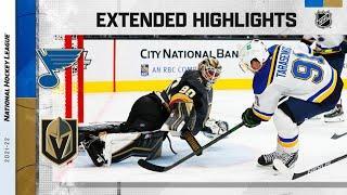 St. Louis Blues vs Vegas Golden Knights | Oct.20, 2021 | Game Highlights | NHL 2022 | Обзор матча