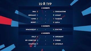 Российская премьер лига. Обзор 15-го тура
