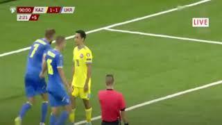 Қазақстан - Украина 2:2 Обзор Матча | Kazakhstan vs Ukraine 2-2 Highlights | Qualifiers WC 2022