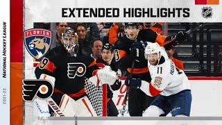 Florida Panthers vs Philadelphia Flyers | Oct.23, 2021 | Game Highlights | NHL 2022 | Обзор матча