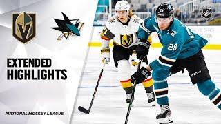 Vegas Golden Knights vs San Jose Sharks | Oct.9, 2021 | Preseason | Game Highlights | Обзор матча