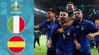 АААА, какие же они крутые! Италия - в финале ЕВРО-2020 | Обзор матча Италия - Испания