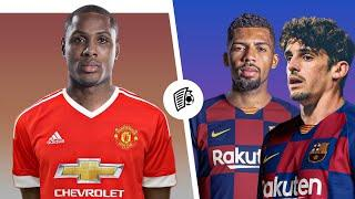 ОФИЦИАЛЬНО: Два новичка Барселоны! Новый форвард Манчестер Юнайтед! / Трансферы 2020