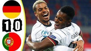 Germany U21 vs Portugal U21 2-1 Hіghlіghts & Goals - Euro Final 2021