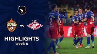 Highlights CSKA vs Spartak (1-0) | RPL 2021/22
