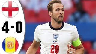 Англия - Андорра 4-0 Обзор Матча Чемпионат Мира 2022 Квалификация 05.09.2021