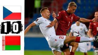 Чехия - Беларусь 1-0  Обзор Матч 02/09/2021