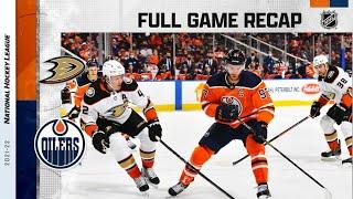 Anaheim Ducks vs Edmonton Oilers   Oct.19, 2021   Game Highlights   NHL 2022   Обзор матча