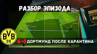 Боруссия Д - Шальке 4-0 Обзор матчей Бундеслиги 26 тур Разбор эпизода