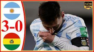 Argentina vs Bolivia 3−0 - Extеndеd Hіghlіghts & All Gоals 2021 HD