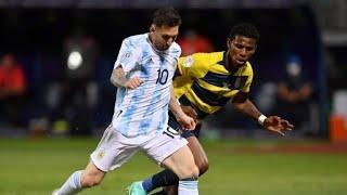 Обзор матча Аргентина - Эквадор - 3:0. Copa America-2021. 1/4 финала