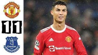 Манчестер Юнайтед 1-1 Эвертон обзор матча | Слова Роналду после матча | Трансферы 2021