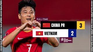 #AsianQualifiers - Group B | China PR 3 - 2 Vietnam