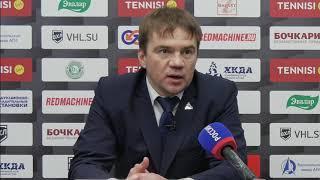 Пресс конференция  после второго матча серии ½ финала розыгрыша Кубка Федерации ХК «Динамо Алтай»