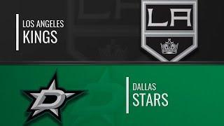 Dallas Stars - Los Angeles Kings 23.10  нхл обзор матчей сегодня