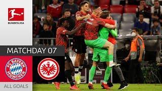 First defeat for Nagelsmann   FC Bayern - Frankfurt 1-2   All Goals   Matchday 7 – Bundesliga 21/22