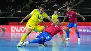 Обзор матча Казахстан - Коста-Рика - 6:1. Чемпионат мира. Групповой этап