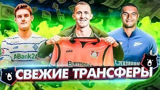 Лунев в Байере / Динамо закупает молодежь / Защитник для Зенита   Трансферы РПЛ