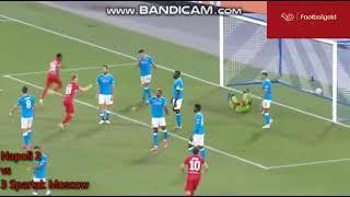 Голы! Наполи-Спартак 2-3! Лига Европыhighlights  Napoli- Spartak Moscow