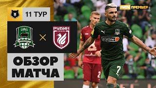 17.10.2020 Краснодар - Рубин - 3:1. Обзор матча