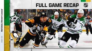 Dallas Stars vs Pittsburgh Penguins   Oct.19, 2021   Game Highlights   NHL 2022   Обзор матча