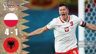 ???? Польша - Албания 4-1 - Обзор Отборочного Матча Чемпионат Мира 02/09/2021 HD ????