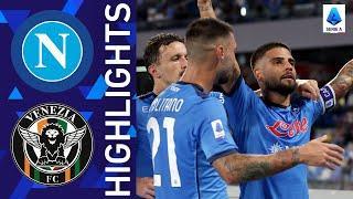 Napoli 2-0 Venezia | Napoli win at home! | Serie A 2021/22