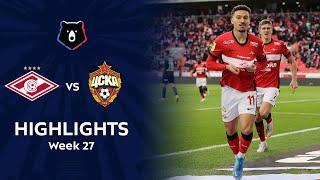 Highlights Spartak vs CSKA (1-0) | RPL 2020/21