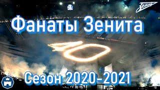Фанаты Зенита - сезон 2020-2021